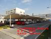 厂家热销福建膜结构遮阳棚、福州工业区钢结构停车棚