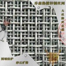 热镀锌钢丝编织围栏网不生锈围栏防护隔离网金属丝网厂家