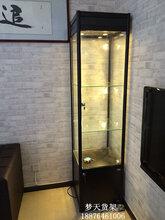 精品柜样品柜精品货架货柜展示架陈列柜玻璃饰品柜模型柜立式方柜