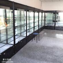 晋江货架组装展示柜精品货架展柜定制玻璃样品展示柜
