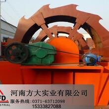 XS輪斗洗砂機,清洗砂子機械,寧波礦石清洗機圖片