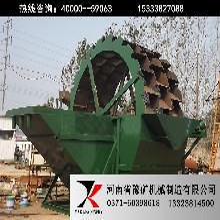 貴州鑄造砂水洗機器,優質尾礦洗砂機,單輪洗沙機報價圖片