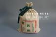 印刷棉布小米袋-定做全麦面粉袋-环保大米袋定制