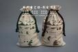 帆布大米袋定制价格-印刷棉布小米袋-玉米面粉袋定做