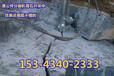 贵州贵阳修文岩石劈裂机