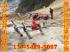 甘肃兰州榆中矿山开采石材分裂器