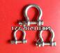 不锈钢带螺母D型卸扣