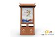 天津生產金德廣告垃圾箱廠家,燈箱廣告垃圾箱