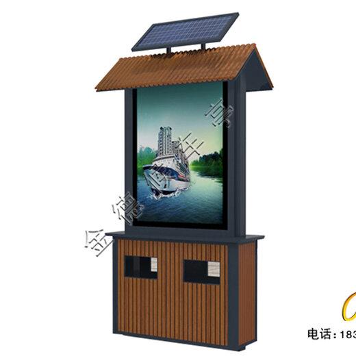 上海廣告垃圾箱圖片,燈箱廣告垃圾箱