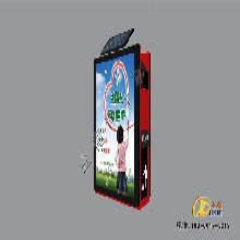 生产太阳能广告垃圾箱品牌,分类广告垃圾箱图片