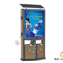 灯箱广告垃圾箱垃圾箱广告,浙江热门金德广告垃圾箱厂家图片