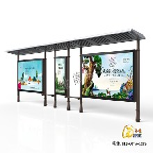 广州候车亭制造图片