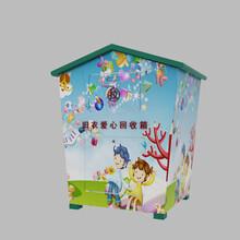 回收箱图片旧衣服回收箱,江西旧衣物回收箱制造公司图片