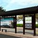 智能公交站臺圖