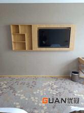 賓館酒店用掛墻電視框電視柜