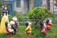 廣場園林戶外雕塑擺件白雪公主人物主題裝扮生產廠家
