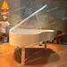 玻璃鋼鋼琴雕塑樓盤戶外房地產裝飾景觀小品雕塑音樂主題樂園塑造