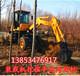 挖掘机质量好挖掘2米轮式挖掘机厂家配置旋转180度价格