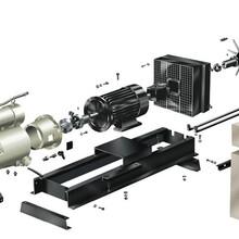 合肥雄强汽车滑片式空压机容积效率检测试验台
