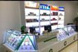 烟草柜台烤漆展示柜中国移动受理台带玻璃柜