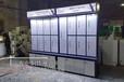 無錫優點智能鎖柜臺汽車隔熱膜展示柜制作