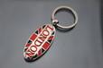 厂家生产金属钥匙扣车标钥匙扣价格定做广告赠送钥匙扣