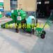 秸秆青储打捆包膜机广安养牛用机械自动进料打包机