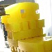 烟台融达聚氨酯矿车碰头生产定制