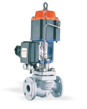 RPV6气缸式调节阀-德国罗普气缸式调节阀-ROPO气缸式调节阀