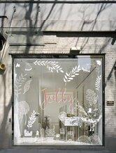 上海装修玻璃贴膜_店铺装修玻璃贴膜图片