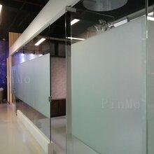 辦公室玻璃貼膜上海_玻璃墻貼膜圖片