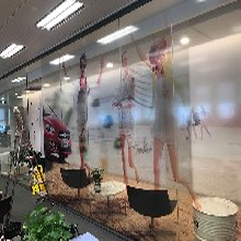 上海办公室磨砂膜定制_办公室玻璃贴膜电话图片