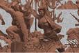 武汉玻璃钢浮雕厂家就找卓美雕塑工艺精