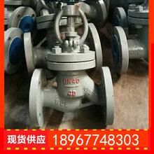 温州俄标铸钢截止阀厂家图片