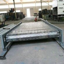 山東鏈板輸送機廠家定制加工鏈板輸送線圖片