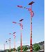 宁夏自治区石嘴山市名族特色道路照明路灯款式