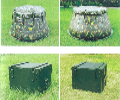 2立方米软体贮水罐野战储水罐野营贮水盆储水罐迷彩大水罐
