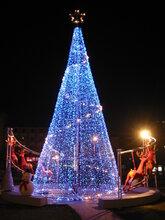 圣诞装饰品生产厂家大型圣诞树装饰品道具出售