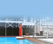 友浪泳池正式推出健身会所泳池定制款产品图片