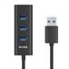 深蓝大道爆款热销USB3.0转4口usb3.0HUB1.2米