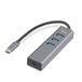 深蓝大道Type-C转USB3.0HUB集线器3口带千兆网卡