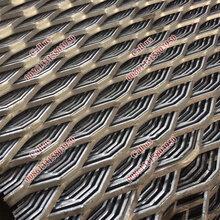 菱形拉伸网,金属扩张钢板网供应商,钢板网防滑走道网的特点图片