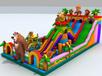 儿童娱乐充气城堡充气滑梯厂家直销
