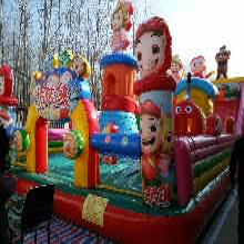 充气蹦蹦床价格充气滑梯厂家充气玩具现货直销