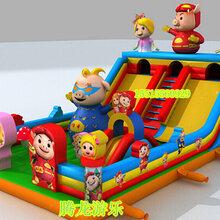 新款充气蹦蹦床充气攀岩大滑梯充气玩具厂家
