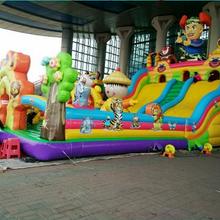 新款充气蹦蹦床儿童充气玩具儿童游乐设备陆地攀岩滑梯