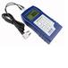 測金屬厚度儀器、通過已知厚度反求聲速、統計貯存導出數據