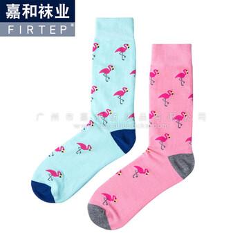 袜厂彩色袜长筒袜广州外贸时尚彩色袜子定制OEM贴牌
