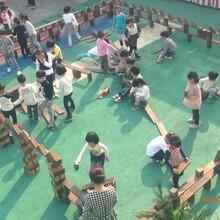 济宁积木类玩具儿童实木积木户外大型炭烧积木幼儿园积木