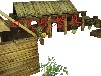 攀爬架幼儿园攀爬梯户外碳化积木青岛积木幼儿园玩具